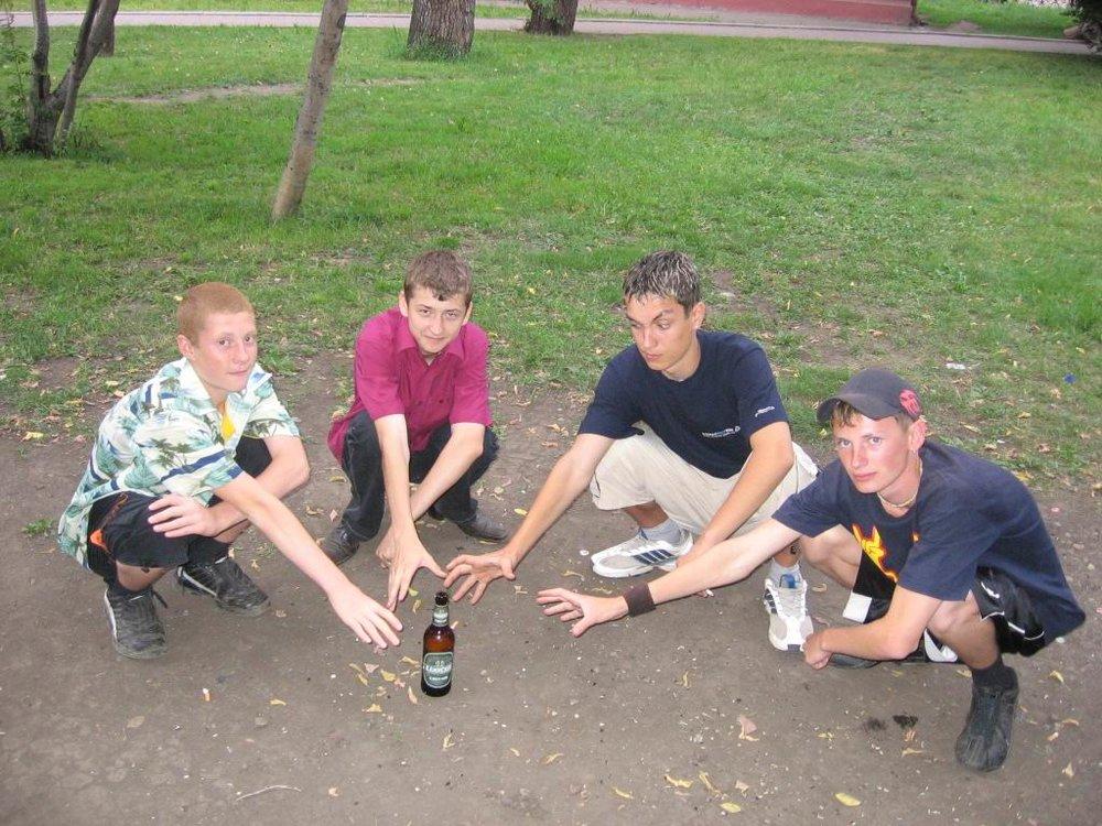 Влияние улиц на подростковый алкоголизм